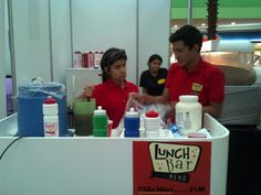 Equipo de Lunch Bar