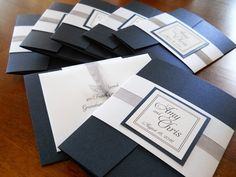 Elegant Pocket Folder Invitations (elegant, classic, traditional ... lover.ly720×540Search by image elegant, classic, traditional, pocket ...