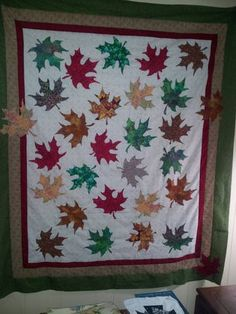 Leaves are falling in Texas-would be great for batiks