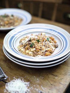 Squash & Sausage Risotto | Jamie Oliver | Family Super Food