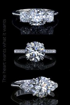 Finding the perfect man is hard enough, thats why we make picking the ring easy.... Explore Leon Megé's exclusive handmade engagement ring collection and find the diamond of your dreams!