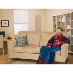 Spiderman snuggie. The coolest way to look like a dork. $33.89
