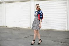 Stripes and Floral. Love! From @Mara Ferreira