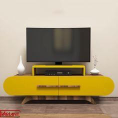 Comoda Tv Rose - Galben/Nuc Furniture, Home, Design, Cots, Ad Home, Home Furnishings, Homes, Haus