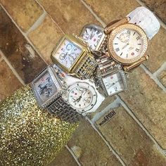 Shop all of our Michele watches on www.mymoshposh.com!! #Michele #michelewatches #designerjewelry #fashion #trendy #luxury #moshposhfinds #mymoshposh #designerconsignment