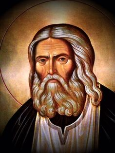 In the Orthodox Church, today is the feast day of the uncovering of the relics of St. Seraphim of Sarov. He was the greatest of the Russian mystic elders Byzantine Icons, Byzantine Art, Religious Pictures, Religious Art, Human Life Cycle, Famous Freemasons, Orthodox Christianity, Orthodox Icons, Mystic
