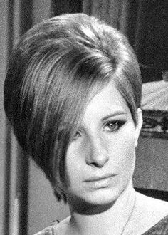 THIS HAIRSTYLE WAS IT!!! IN 1967--BARBRA IN FUNNY GIRL (THIS IS SUPPOSED TO BE A 20'S BOB!)