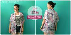 DIY: Cómo hacer un Kimono en sólo cuatro pasos