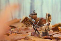 Megőrül az internet a makkokból készült, aranyos figurákért! harmadik oldal