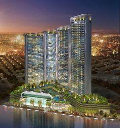 Acqua Livingstone ist der vierte von sechs Wohntürmen, die in Manila entstehen.