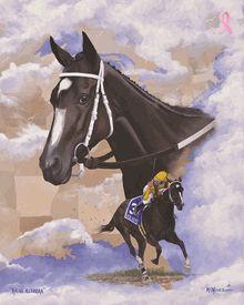 Nick Martinez - Rachel Alexandra, Queen of the East - Horse Print