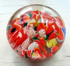 Antique Glass Paperweight