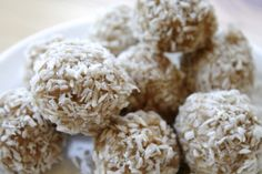 Healthy snacks - protein energy balls