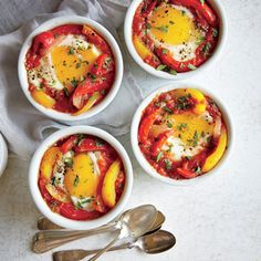 Make-Ahead Shakshuka | CookingLight.com #myplate #protein #veggies