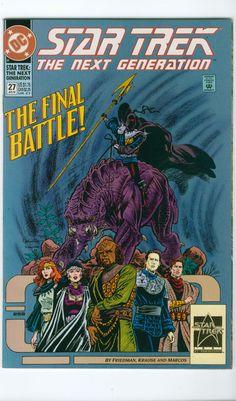 Vintage Star Trek The Next Generation Comic Book No 27 January DC Comics 1992