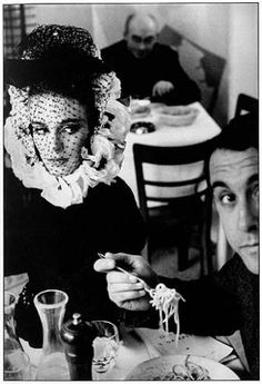 FRANK HORVAT  1962 HB Collections Rome A (model with spaghetti)