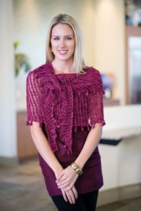 5 Best #Shawl #Crochet Patterns - Ooh - broomstick lace in the round!