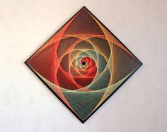 Se LEVANTÓ DEL ESPACIO arte de cadena geometría sagrada