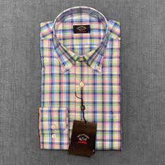 Paul Shark, Shark Shirt, Stylish Mens Outfits, Casual Shirts, Shirt Dress, Composition, Mens Tops, Beauty, Collection