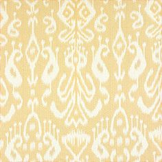 Bravado Ikat #fabric in #beige from the Tea House collection. #Thibaut