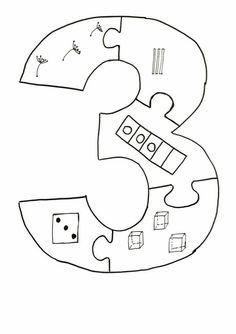 Learning Numbers Preschool, Teaching Numbers, Kindergarten Math Worksheets, Preschool Curriculum, Math Numbers, Teaching Kids, Math For Kids, Craft Activities For Kids, Preschool Activities