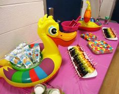Indoor Pool Party Ideas birthday party themes diy ideas and free party printables Find This Pin And More On Es Indoor Pool Birthday Party