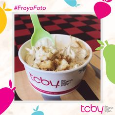 """Um whoever come up with graham cracker frozen yogurt was a GENIUS!"" Thank you @chaedeclue_09 for our pic of the week! #FroYoFoto #GrahamCrackerFroYo #FroYo #tcby"
