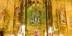 Altar y imágen de la Puríssima Xiqueta, patrona de Benissa Altar, Painting, Block Party, Places To Visit, Painting Art, Paintings, Painted Canvas, Drawings
