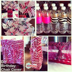 Zebra party ideas @ www.freshinista.blogspot.com