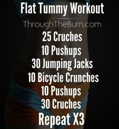 Simple flat tummy morning workout to get you ready and your blood pumping! Simple flat tummy morning workout to get you ready and your blood pumping! Fat To Fit, Lose Belly Fat, How To Lose Weight Fast, Lower Belly, Loose Weight, Flat Belly, Body Weight, Flat Tummy Workout, Belly Fat Workout