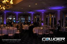 DJ | MC | Lighting Design | Wedding Up-Lighting | Wedding Monograms | Name in Lights | Eastern Shore | MD, DE, VA | Like our FB page! | www.CowgerEntertainment.com