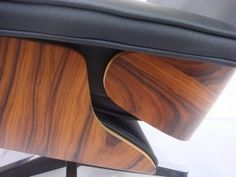 Making of Eames lounge chair
