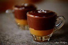 Moja kuchyňa: Čokoláda so slaným karamelom - chocolate with salty caramel (Slovak language)