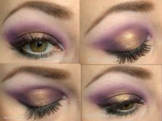 bold purple and gold