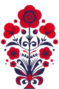 Floral Design Day | Kiss Me I'm Polish™ | Design with heart.