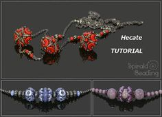 *P Hecate  PDF beading pattern by SpiralaBeading on Etsy