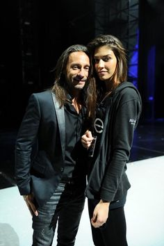 Marilhéa hanging out with Bob Sinclar Photo credit: Anthony Ghnassia