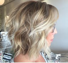 Cut, not the color. Love the layers and waves
