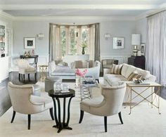 living room bay window decorating - Google Search