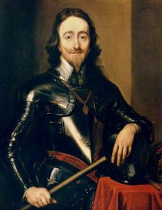Charles I by Anthony van Dyck    Oil on canvas, 101.5 x 81.5 cm Collection: Palace of Westminster