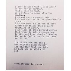 LOVE THIS! Remington Typewriter Poetry. The Blooming of Madness #230