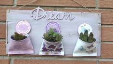 Crafts To Sell, Diy And Crafts, Tin Can Art, Creation Deco, Decoupage Art, Upcycled Crafts, Diy Planters, Diy Patio, Garden Crafts