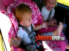 Baby Wakes Up To Gangnam Style