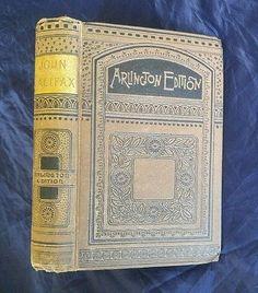 John Halifax Gentleman Dinah Mulock-Craik Antique Victorian Decorative Brown