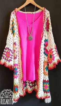 Transcendent Crochet a Solid Granny Square Ideas. Inconceivable Crochet a Solid Granny Square Ideas. Crochet Scarf Diagram, Crochet Coat, Granny Square Crochet Pattern, Crochet Jacket, Crochet Squares, Knitted Poncho, Crochet Cardigan, Crochet Granny, Crochet Clothes