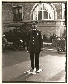 chicago police vintage uniform