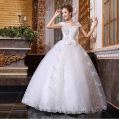 fotos com vestidos de princesas para noivas