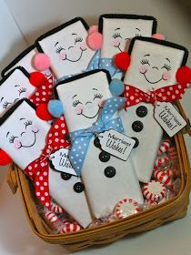 Rock Paper Cricut: Snow Cute! This would make for a fun teacher gift at Christmas time.
