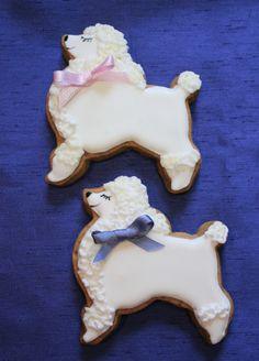 white poodle design