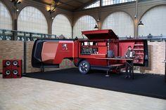 The product of the fertile minds at Peugeot's Design Lab, Le Bistrot du Lion